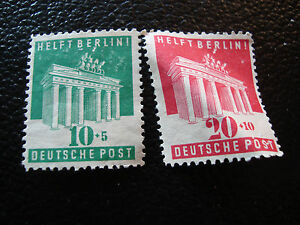 Germany-Bizone-Stamp-Yvert-and-Tellier-N-69-70-Nsg-A1-Stamp-Germany