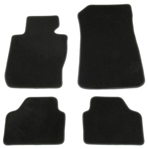 Tapis de sol pour BMW x1 e84 2009-2015 velour Premium Qualité Voiture Tapis Noir