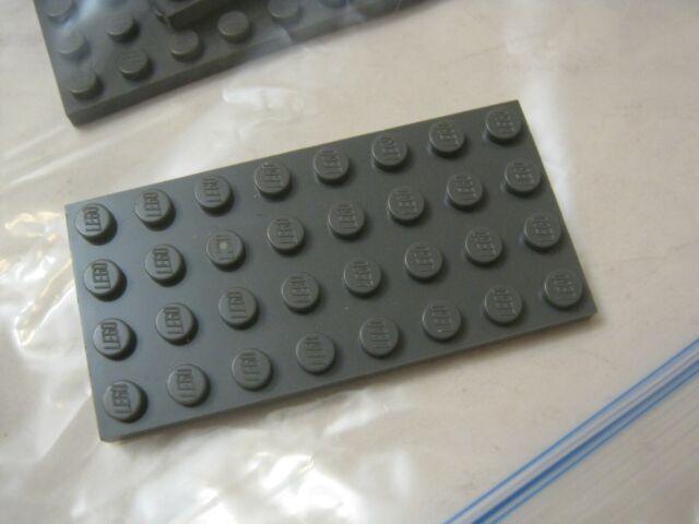 Plate 4x8 NEUF NEW Light Bluish Gray Lego 3035-2x Plaque Gris Clair