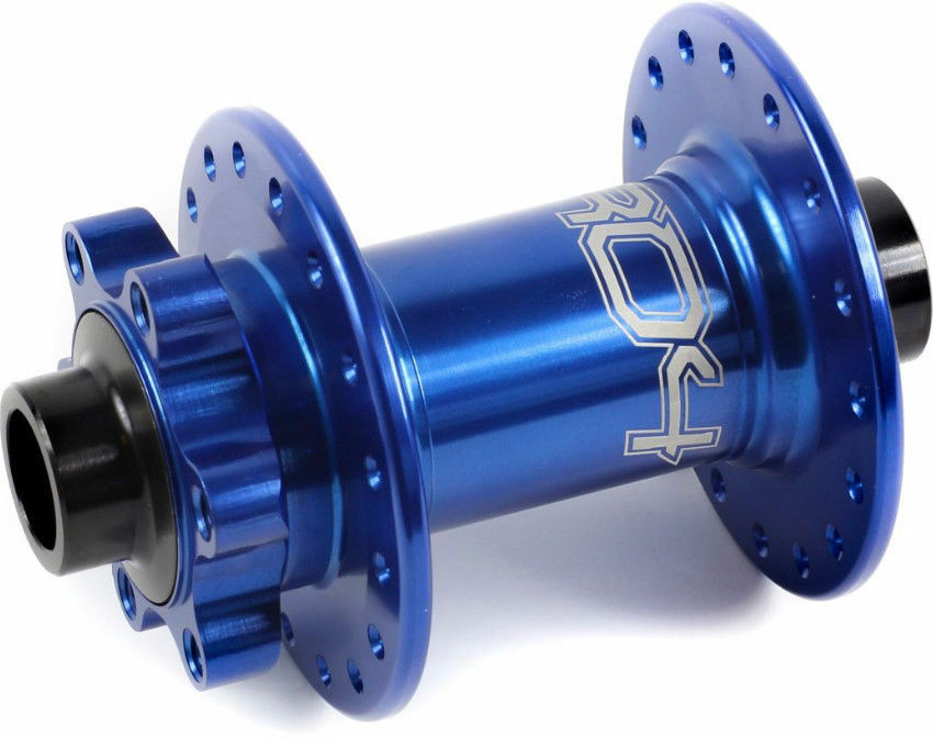 Hope Pro 4 Front Disc 100 x 15mm Hub 15mm Axle 32h 6 Bolt bluee