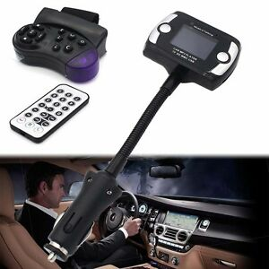 Wireless-FM-Transmitter-Bluetooth-MP3-Player-Car-Kit-USB-Remote-for-IPhone-6S-NA
