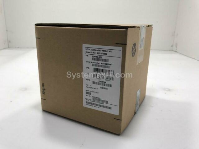 734180-B21 - HPE DL560 Gen8 Xeon E5-4650 v2 2.4GHz 10-Core Processor Kit