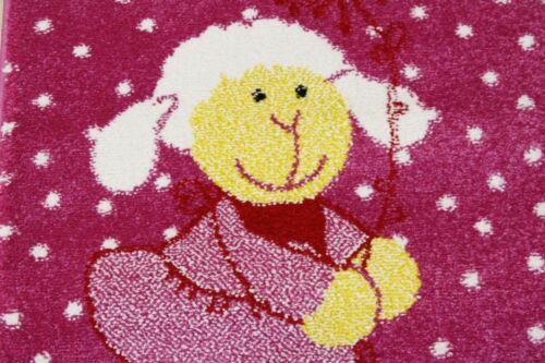 Enfants tapis jeu tapis sigikid sk-0524-03 schnuggi 200x290 cm pink