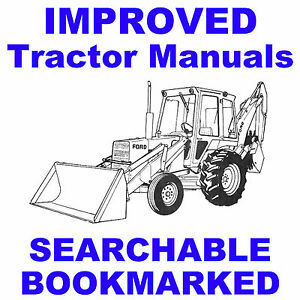 Ford-550-Tractor-Loader-Backhoe-Operators-Manual-OP-Owner-Operator-Fast-Ship-CD
