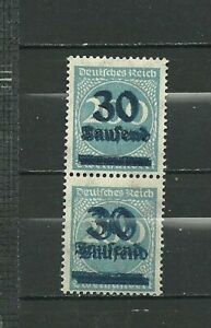 1923-German-Hyper-inflation-Double-Over-Print-Double-Colour-Error-Pair