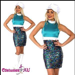 Ladies-60s-70s-Retro-Hippie-Go-Go-Girl-Disco-Costume-Fancy-Dress-1960s-Party