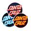 thumbnail 1 - Santa Cruz Skateboards Stickers 5 Pack Other Dot Skate decal