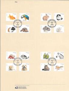 1629-47c-Forever-Pets-20-Stamps-5106-5125-Souvenir-Page