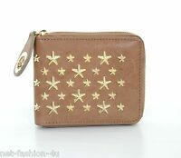 JIMMY CHOO LONDON NIKI STAR STUDDED LEATHER WALLET PURSE BNWT BOX PERFECT GIFT