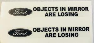 FORD-034-Objects-In-Mirror-Are-Losing-034-Clear-Decals-For-Mirrors-1-Pair