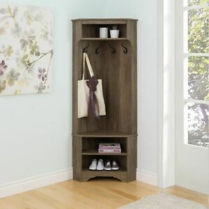 Brilliant Details About Corner Coat Rack Hall Tree Mudroom Entry Way Storage Bench Shelves Shoe Hat Hook Ibusinesslaw Wood Chair Design Ideas Ibusinesslaworg