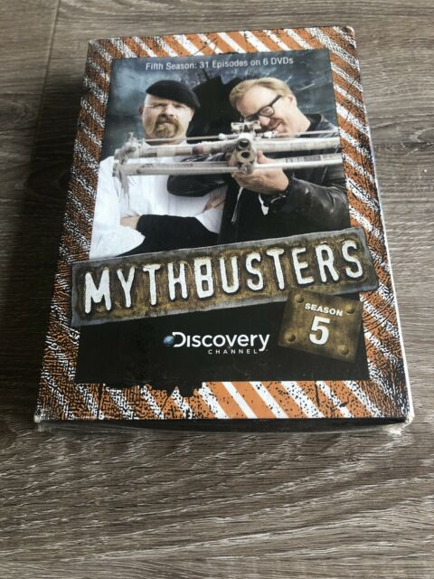 Mythbusters Season 5 Dvd 6 Dvds 31 Episodes For Sale Online Ebay