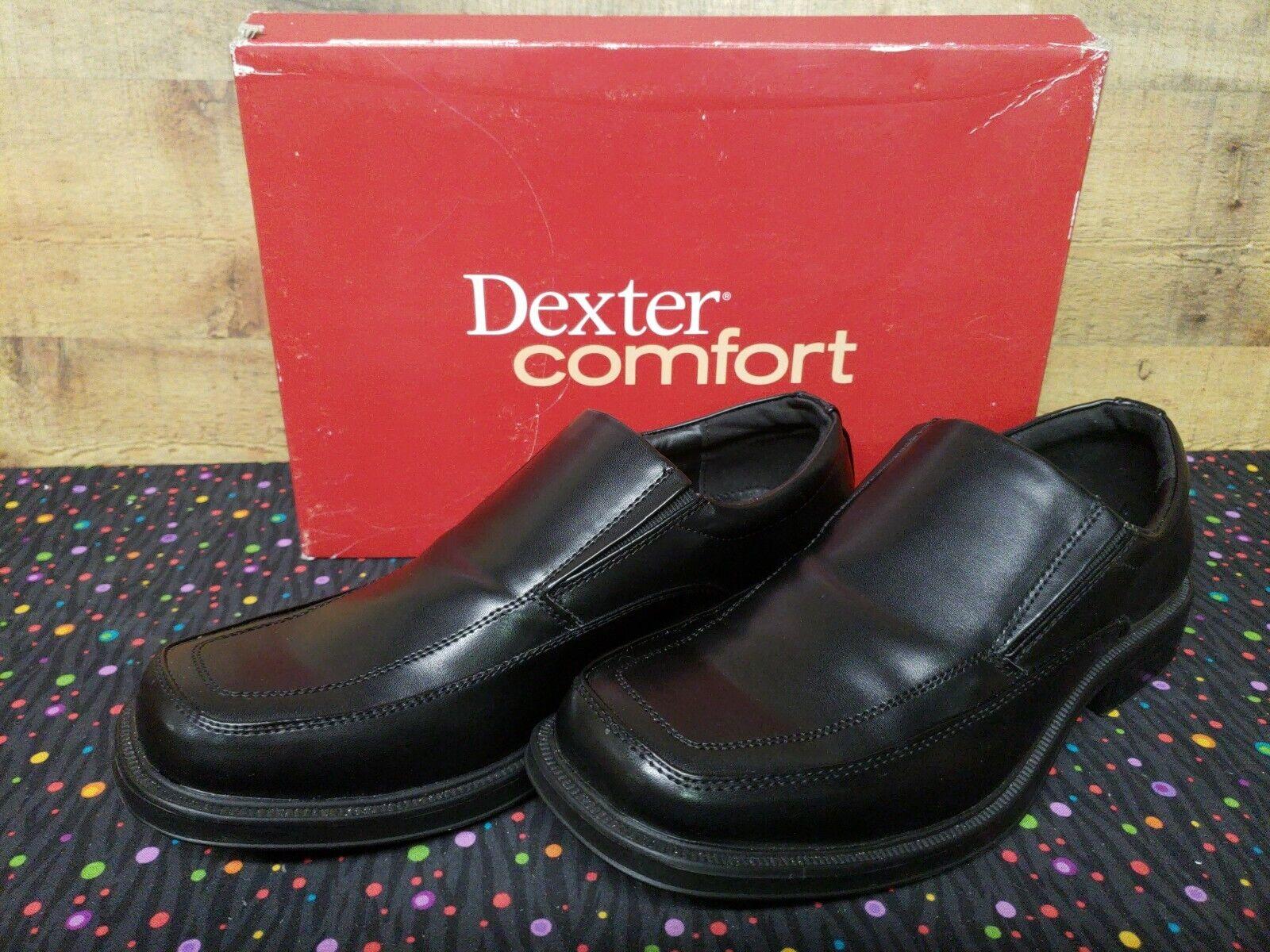 Dexter Comfort 159157 Spencer Slipon Dress Mens shoes Size 9.5 New With Box