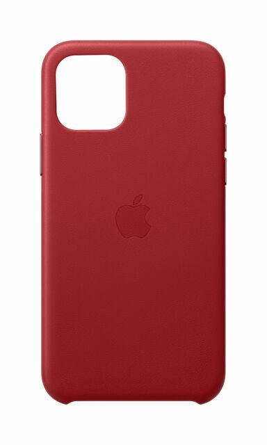 Apple Custodia in Pelle (per iPhone 11 Pro) - Rosso  Prezzi e