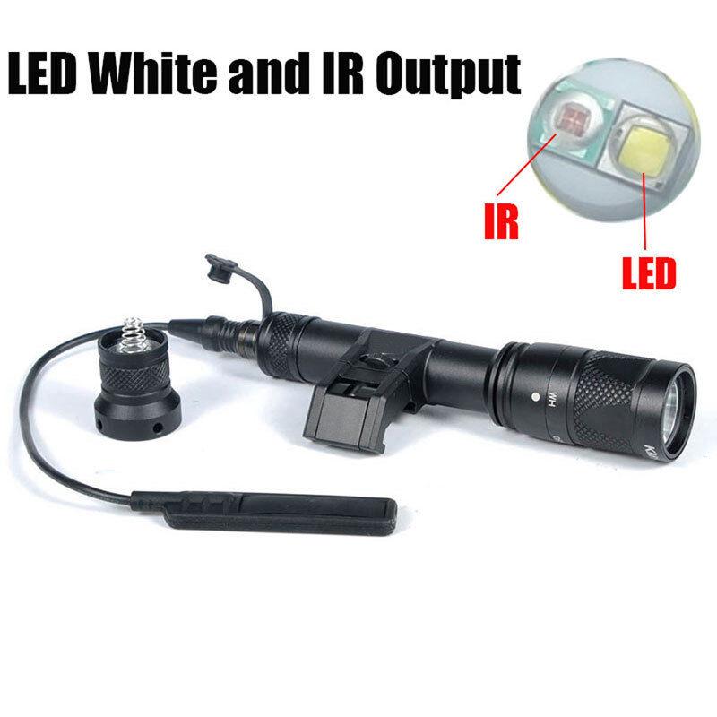 IFM M600V IR Light White Light & IR  Output Night Vision Flashlight & Tape Switch  comfortable