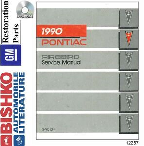 image is loading 1990-pontiac-firebird-shop-service-repair-manual-cd-