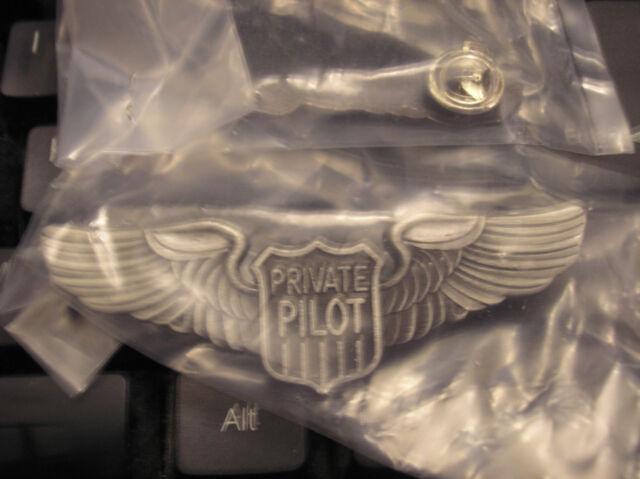 PRIVATE PILOT WINGS - 2- 13/16