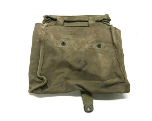 Military Surplus M151 AM General MUTT Front Seat Back Hanging Map Bag 11630468