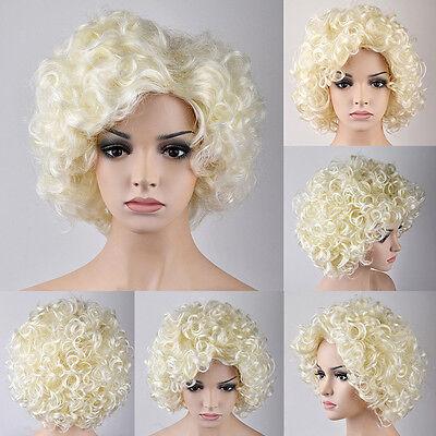 Marilyn Monroe Similar Style Blond Curly Hair Wigs Graceful Short Women's Wigs