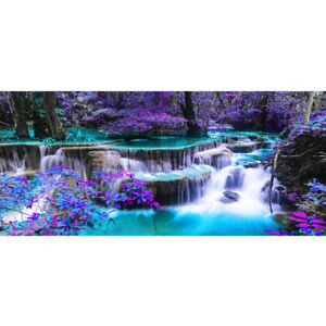 90-40cm-5D-DIY-Full-Drill-Diamond-Painting-Waterfall-Cross-Stitch-Kit-Home-Decor