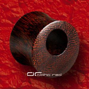 HOLE-CUT-OUT-TAMARIND-WOOD-SADDLE-PLUG-TUNNEL-6-u-16mm-HOLZ-4990