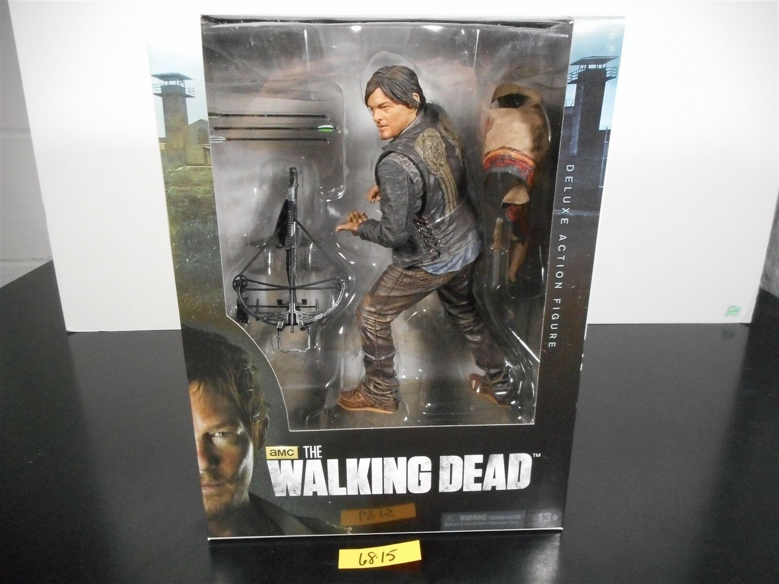 SEALED  THE WALKING DEAD AMC 10  DARYL DIXON DELUXE ACTION FIGURE SERIES 4 68-15