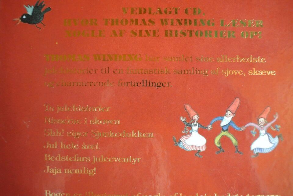 thomas winding fortæller julehistorier inkl. cd, thomas