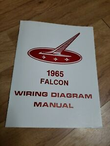 1965 FORD Falcon Wiring Diagram Manual 65 MP 146 | eBay