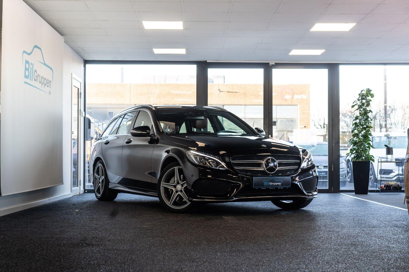 Mercedes C220 d 2,2 AMG Line stc. aut. 5d - 1.999 kr.
