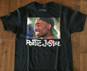 cb0876334618 Tupac Shakur Poetic Justice classic Graphic Tee S-3XL T-shirt Rap ...