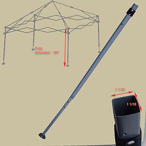 Coleman 10 X 10 Canopy Gazebo Extended Adjustable Leg