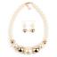 Women-Bohemian-Choker-Chunk-Crystal-Statement-Necklace-Wedding-Jewelry-Set thumbnail 120
