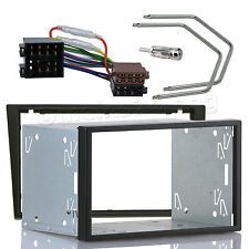 OPEL Meriva Vivaro SUZUKI Ignis Doppel 2 DIN Radio Blende Einbau Rahmen Adapter