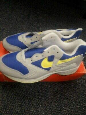Nike Air Icarus Extra Sgn Bl Vltg Yellow Lt Zen Grey 104012 470 Size 8 Made   eBay