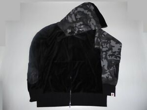 2cb3f7435ac1 Image is loading 12494-mastermind-Japan-x-bape-velvet-hoody-black-