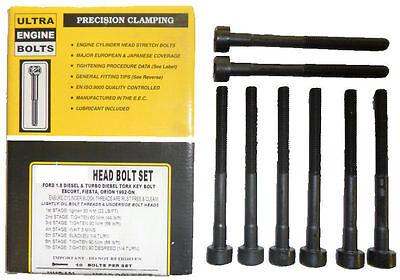 Head Bolts fits Citroen C4, C5, C6, C8, Dispatch, Relay - 2.0/2.2 HDi 16v UHB745