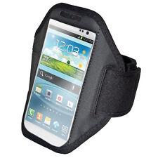Sportarmband Armtasche Armband für iPhone Plus LG G3 Sony Z3, Note 4 Schwarz