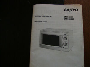 Microwave Oven Instruction Manual For