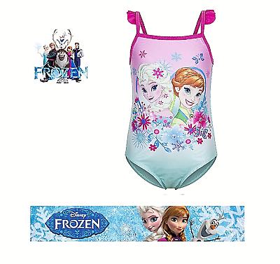 Kids Gilrs Minions Swimsuit Swimwear Swimming Costume Age 3-8 Years