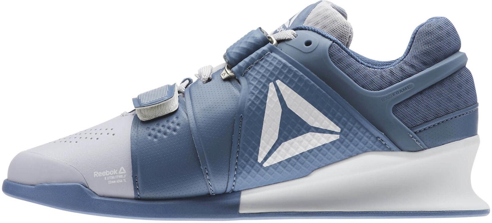 Levantador De Mujer Zapatos de Halterofilia Reebok legado Azul Gimnasio Culturismo botas