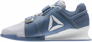 Reebok-Legacy-Lifter-Womens-Weightlifting-Shoes-Blue-Bodybuilding-Boots-Gym