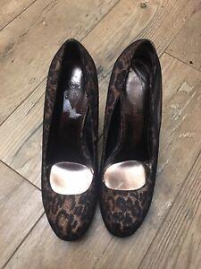 e1aaff59d3c Women s Shoes High Heels Platforms Sofia Vergara Leopard Print 8.5 ...