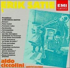 Audio CD Erik Satie: Works for Piano, Vol. I: Premieres et dernieres oeuvres - A