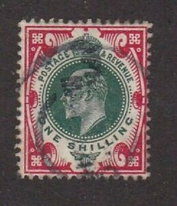 Great Britain stamp #138a, used, 1902 - 1911, KEV II  SCV $70.00