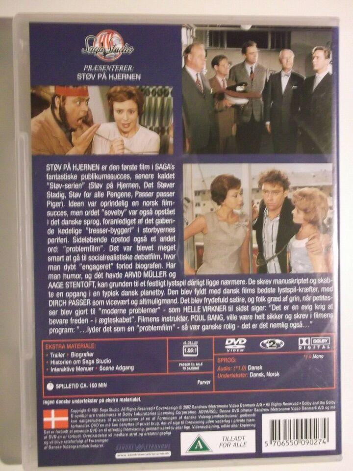 Støv På Hjernen, instruktør Poul Bang, DVD