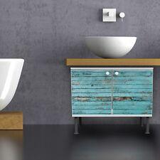 Unterschrank 29.5x37 Türen IKEA FULLEN einzigartig Blaue Holzlatten Badschrank