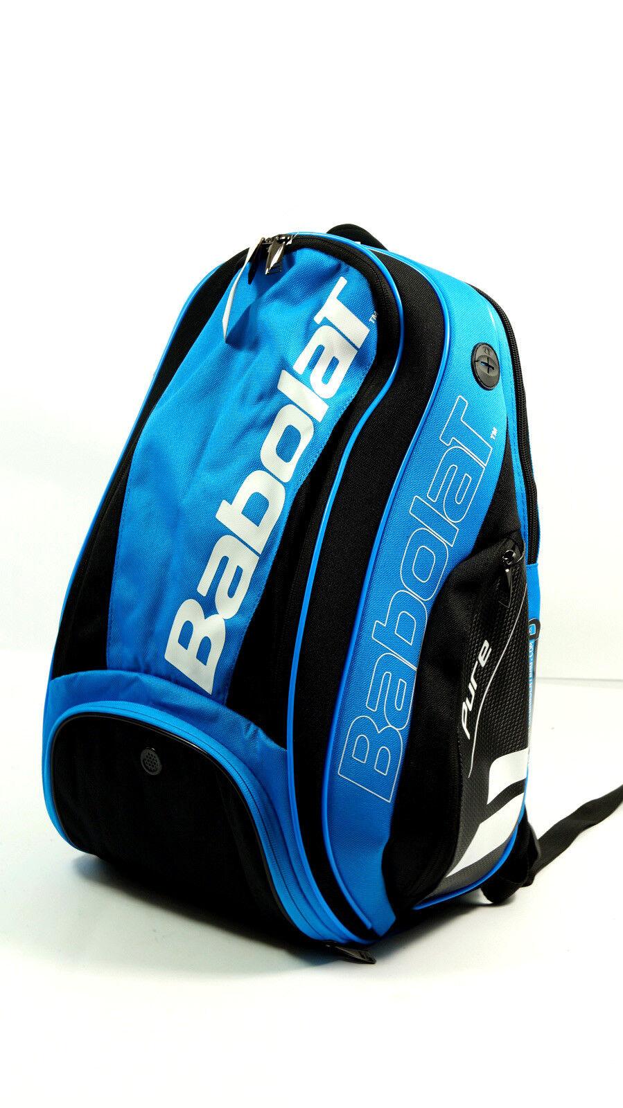 NEUBabolat Pure Drive Tennisrucksack Blau Schwarz Schwarz Schwarz racketbag Blau schwarz pro new 346799
