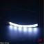 2x 10cm White 6 LED 5050 Strip Lights Flexible 12V For Car Boat Motor Waterproof