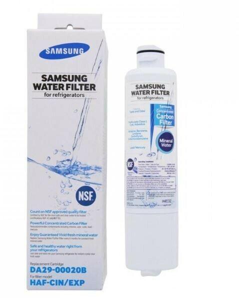 HAF-CIN//EXP 6 x Waterdrop Fridge Filter Replacement for Samsung DA29-00020B