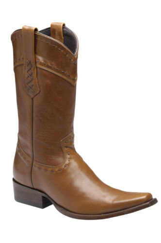 1B16BT Western Boot Cowhide made by Cuadra Boots